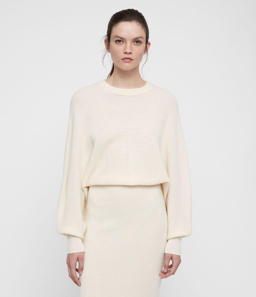 Damen Gene Kleid (chalk_white) - Image 3