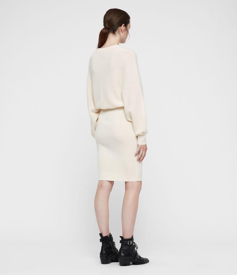 Mujer Gene Dress (chalk_white) - Image 4