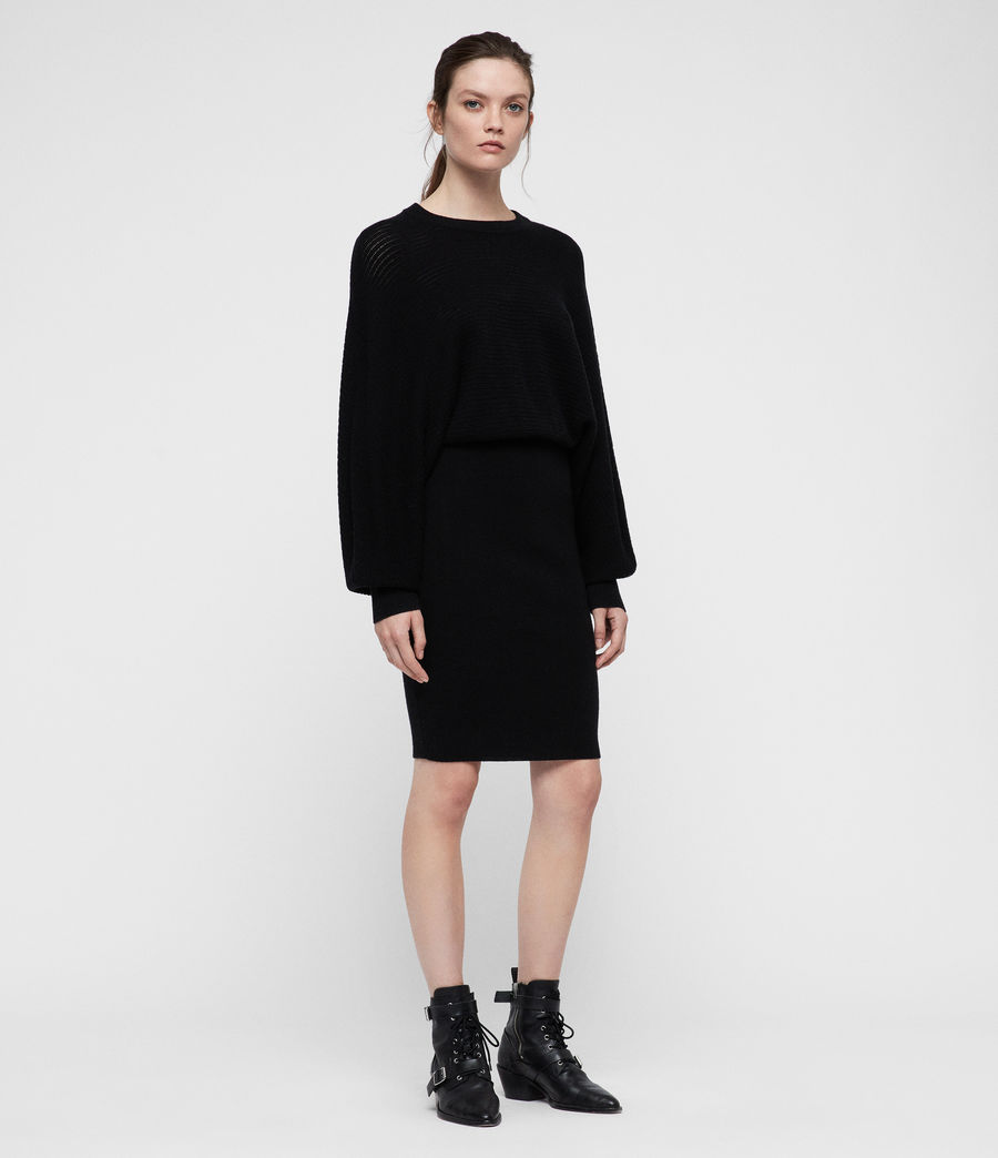 Women's Gene Dress (black) - Image 1