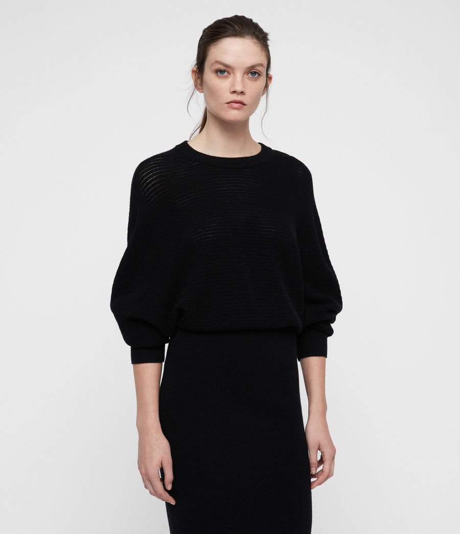 Women's Gene Dress (black) - Image 3