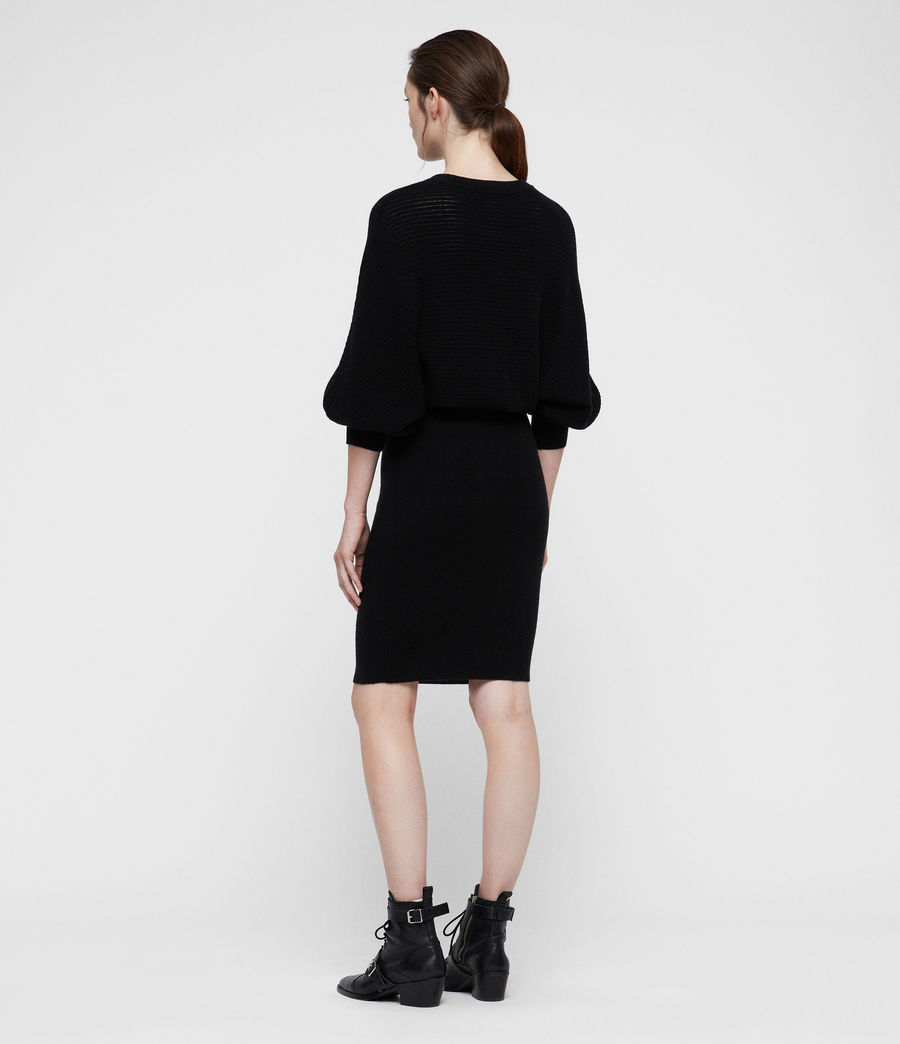 Women's Gene Dress (black) - Image 4