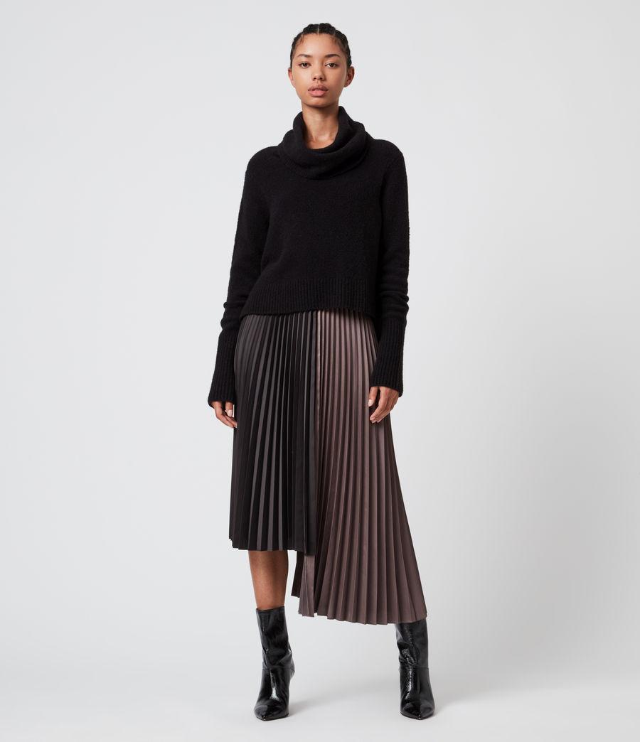 Damen Jessie 2-In-1 Dress (black_mink_pink) - Image 1