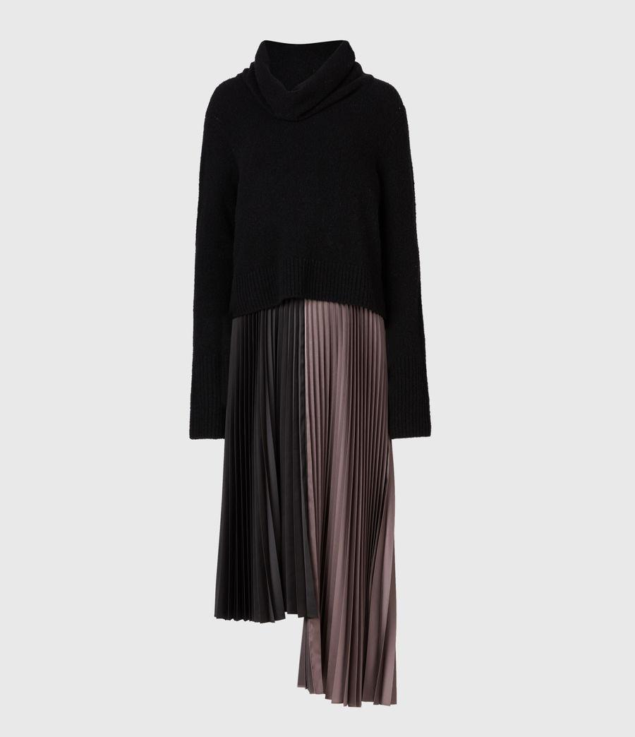 Damen Jessie 2-In-1 Dress (black_mink_pink) - Image 2
