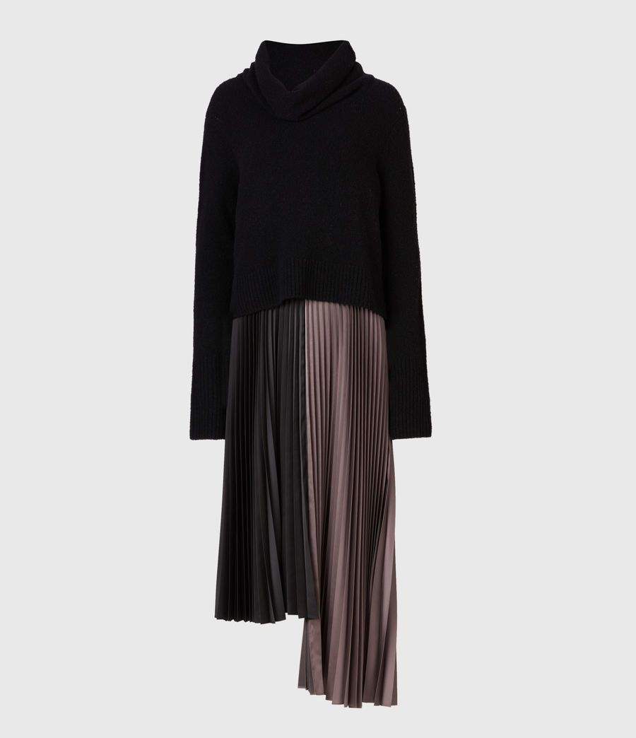 Womens Jessie 2-In-1 Dress (black_mink_pink) - Image 2