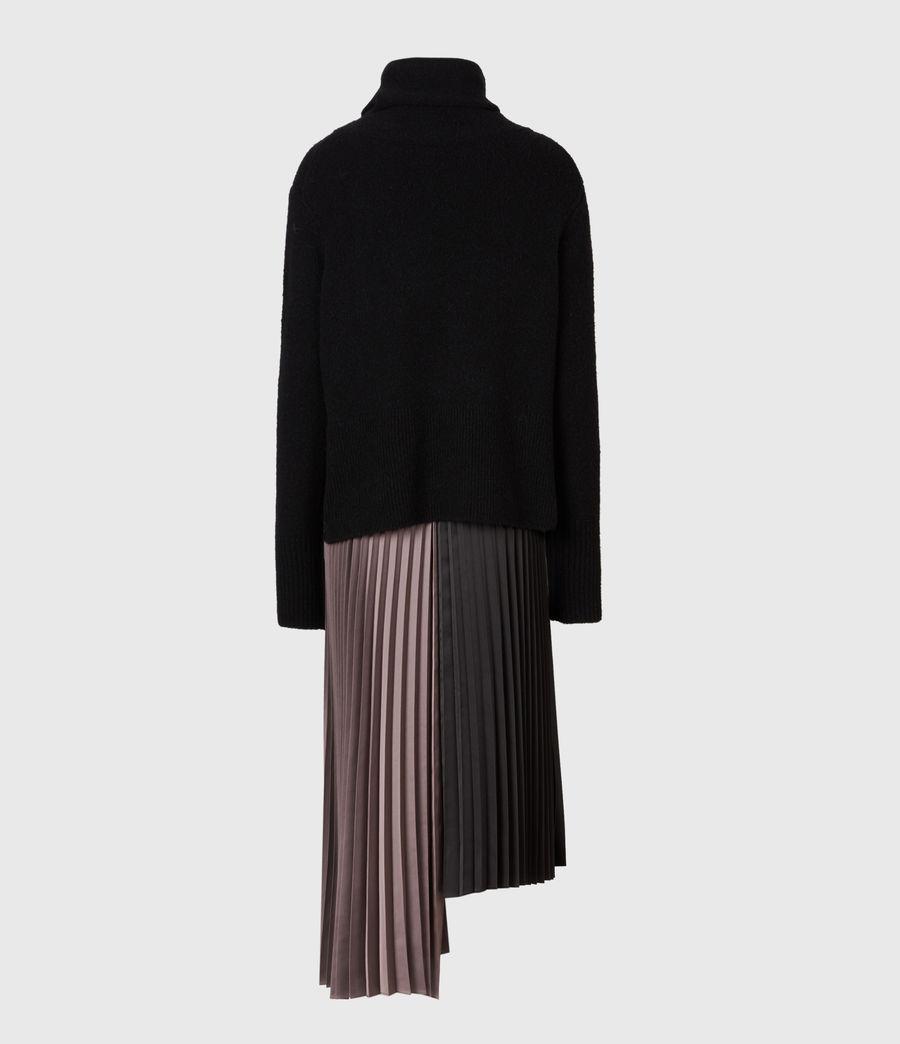Damen Jessie 2-In-1 Dress (black_mink_pink) - Image 3