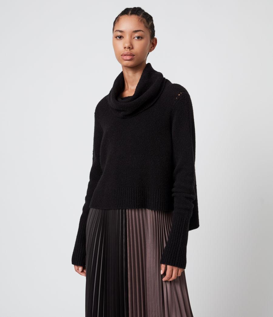 Damen Jessie 2-In-1 Dress (black_mink_pink) - Image 4