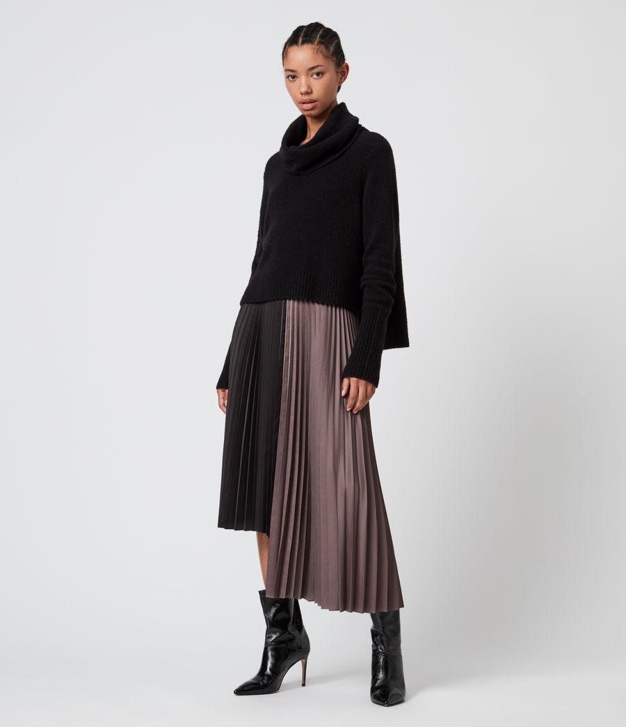 Damen Jessie 2-In-1 Dress (black_mink_pink) - Image 8