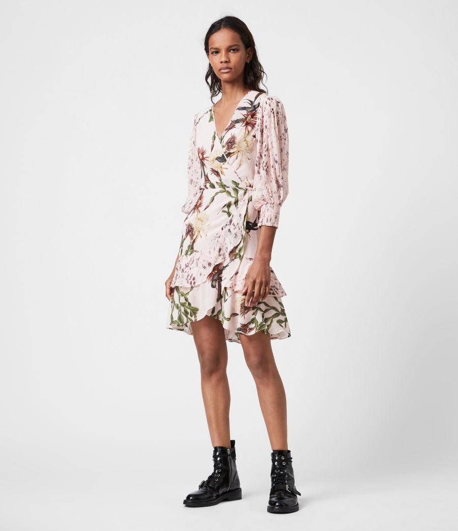 Womens Ari Nolina Dress (clay_pink) - Image 4