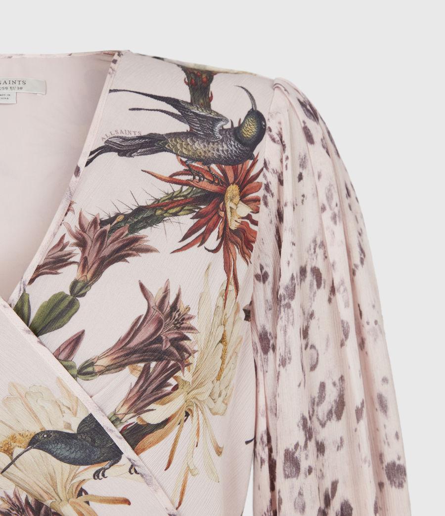 Womens Ari Nolina Dress (clay_pink) - Image 5