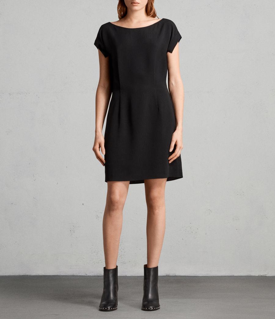 Mujer Vestido Mira (black) - Image 1