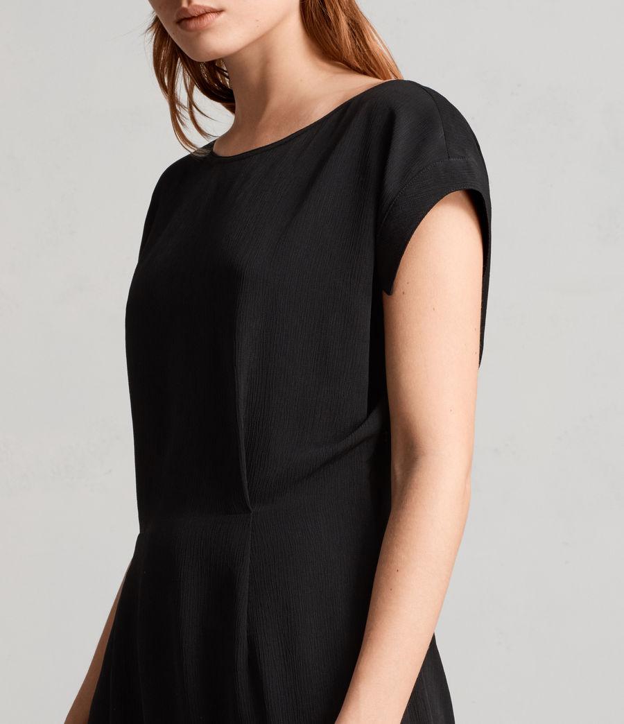 Mujer Vestido Mira (black) - Image 2