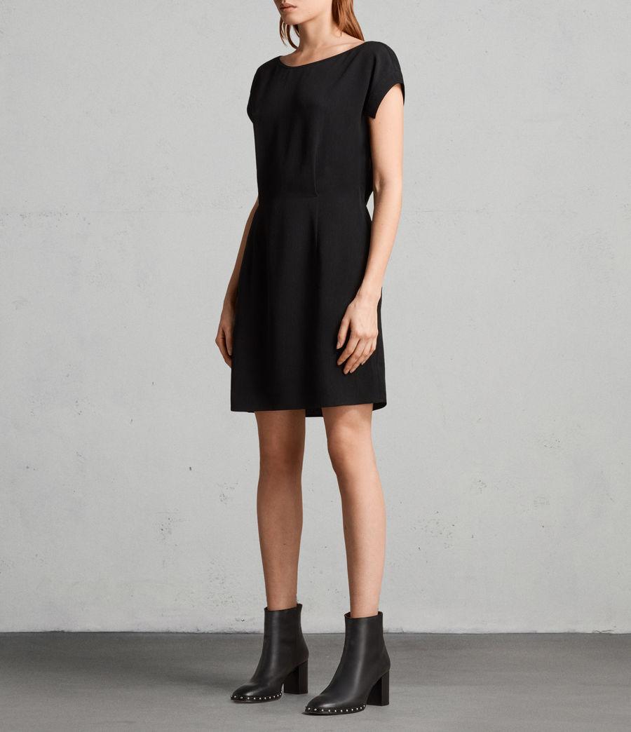 Mujer Vestido Mira (black) - Image 3