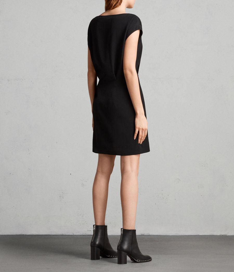 Mujer Vestido Mira (black) - Image 4