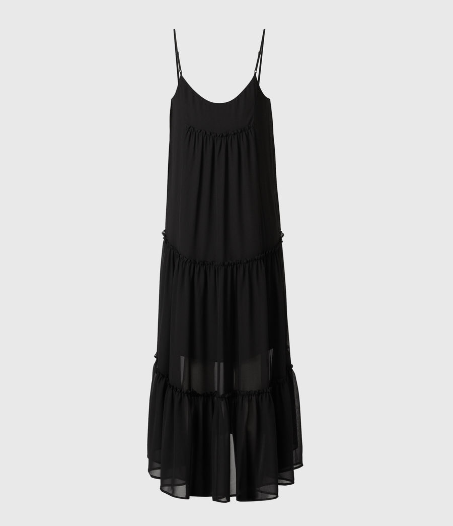 Womens Tilly 2-In-1 Dress (black) - Image 6