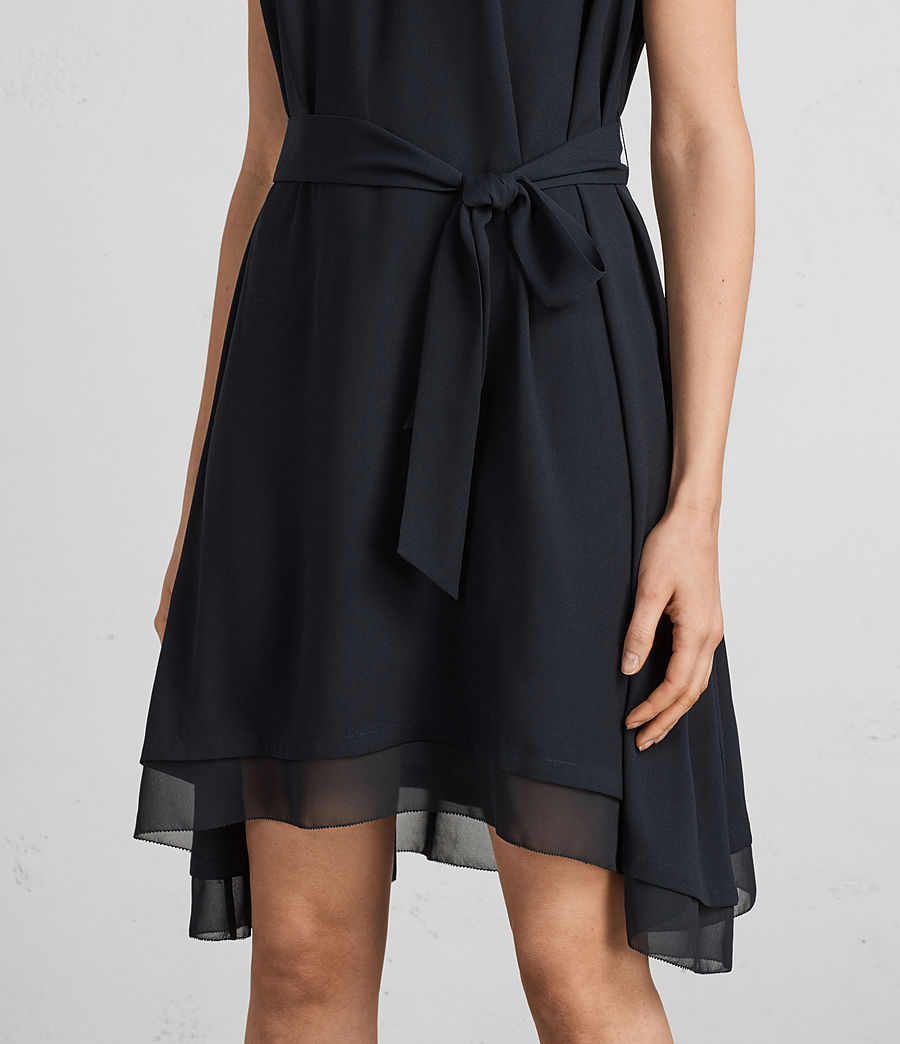 Womens Nyla Dress (ink_blue) - Image 5