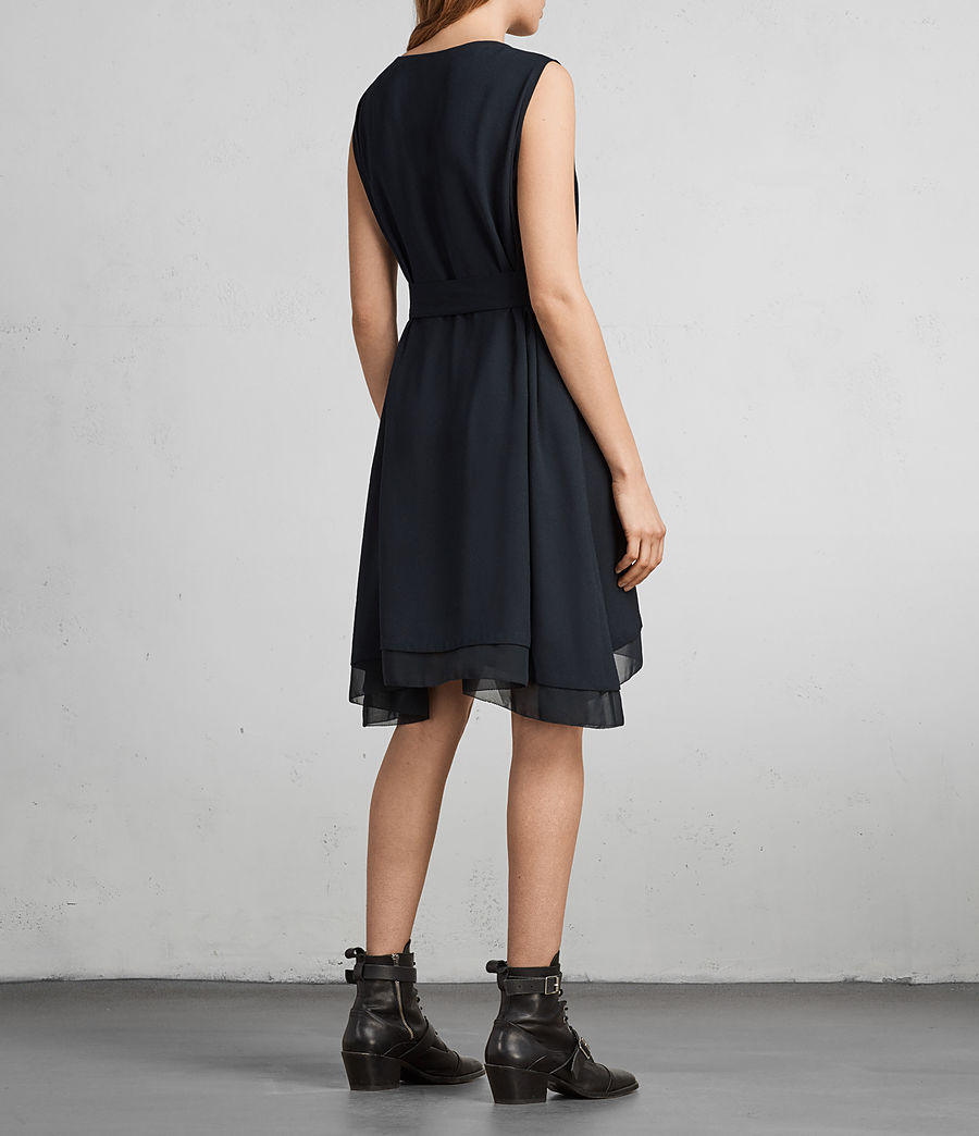 Womens Nyla Dress (ink_blue) - Image 6