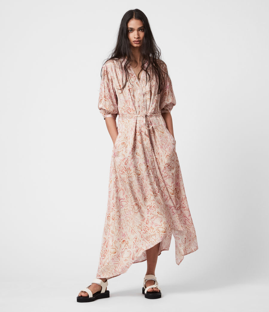 Women's Yuni Vernus Dress (desert_pink) - Image 1