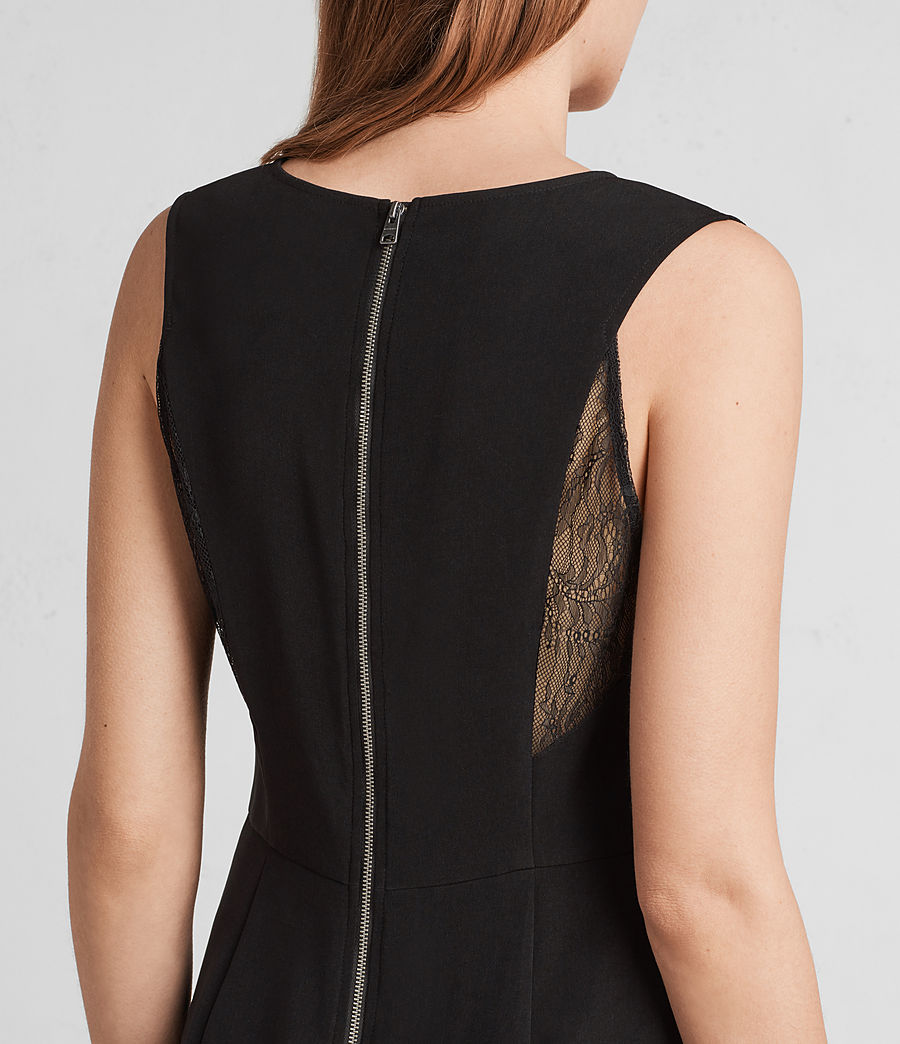 Women's Olivia Dress (black) - Image 2