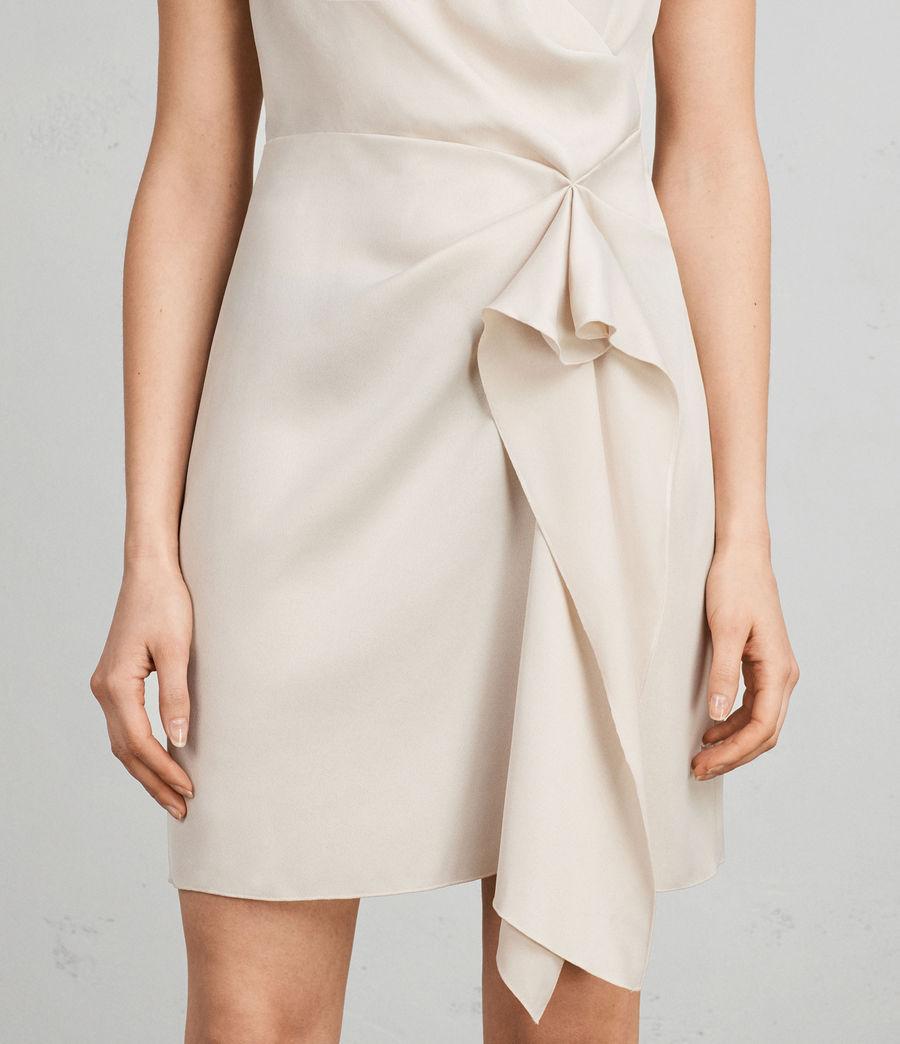 Women's Erica Dress (pastel_white) - Image 2