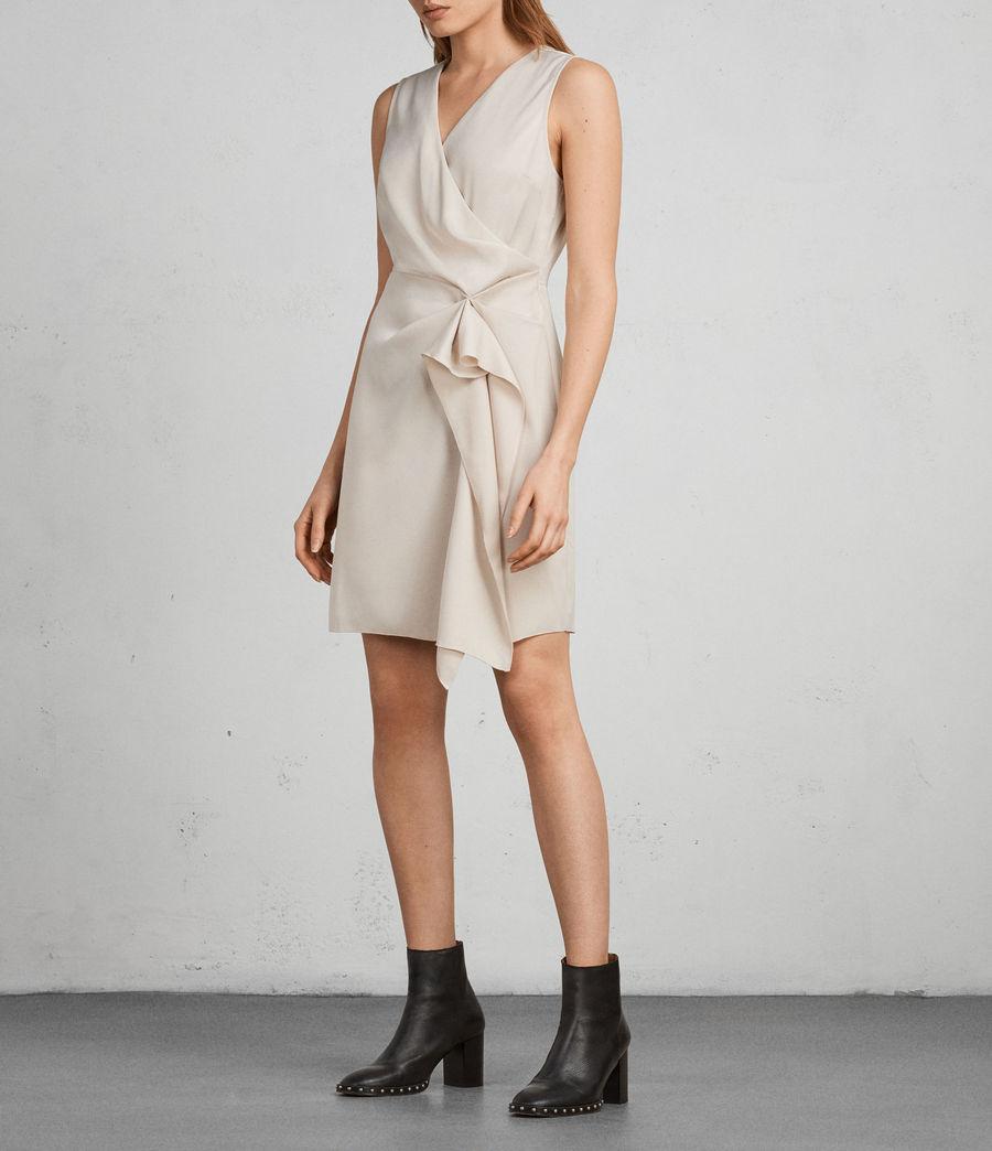 Women's Erica Dress (pastel_white) - Image 3