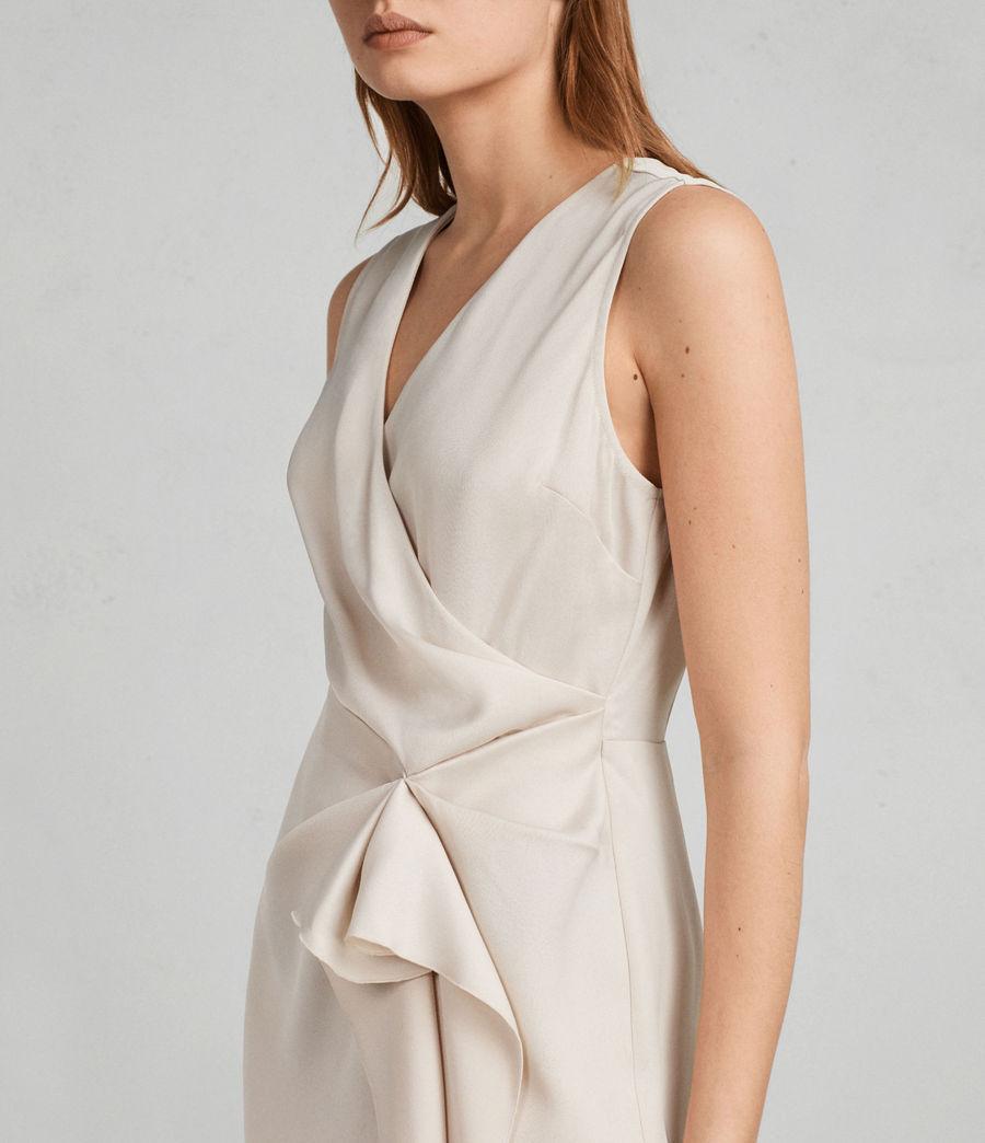 Women's Erica Dress (pastel_white) - Image 4