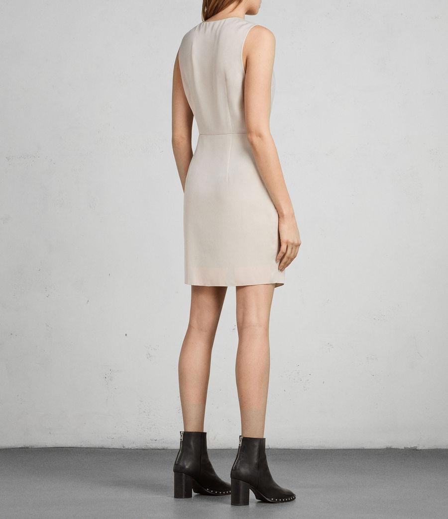 Women's Erica Dress (pastel_white) - Image 5