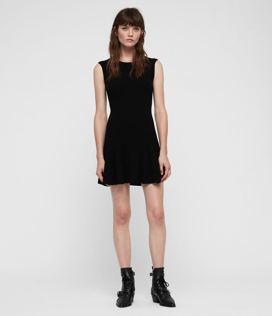 Women's Cindy Dress (black) - Image 1