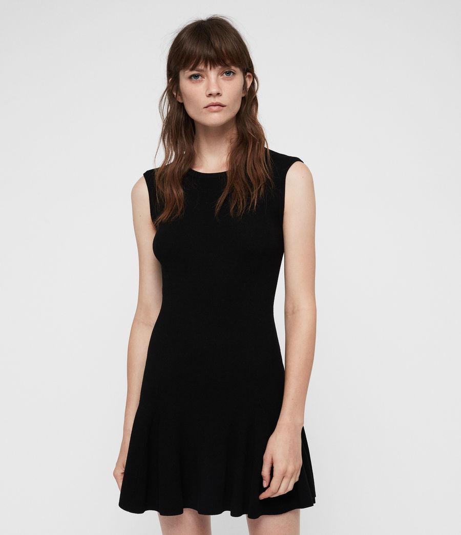 Damen Cindy Kleid (black) - Image 5