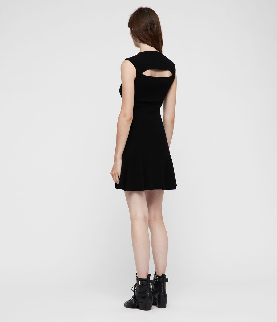 Women's Cindy Dress (black) - Image 6