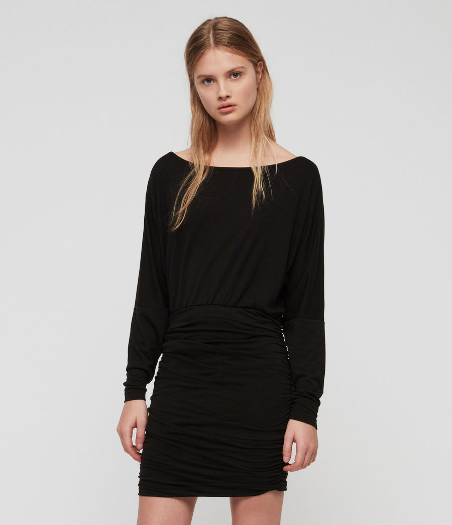 Women's Giogia Dress (black) - Image 1