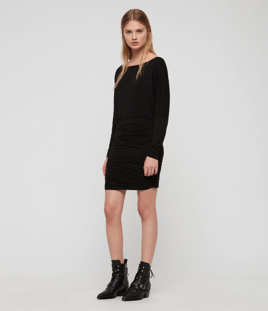 Femmes Robe Giogia (black) - Image 2