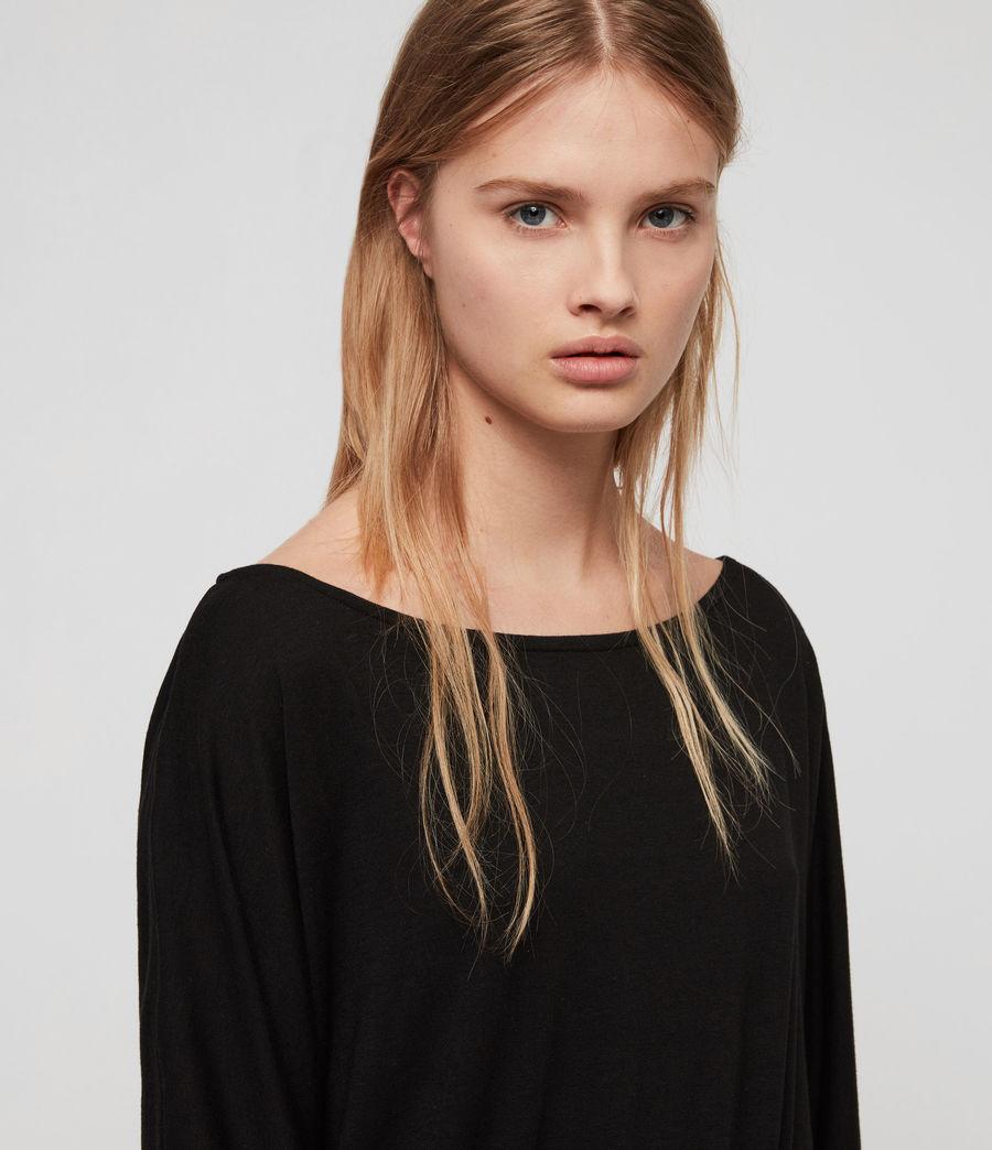 Femmes Robe Giogia (black) - Image 3