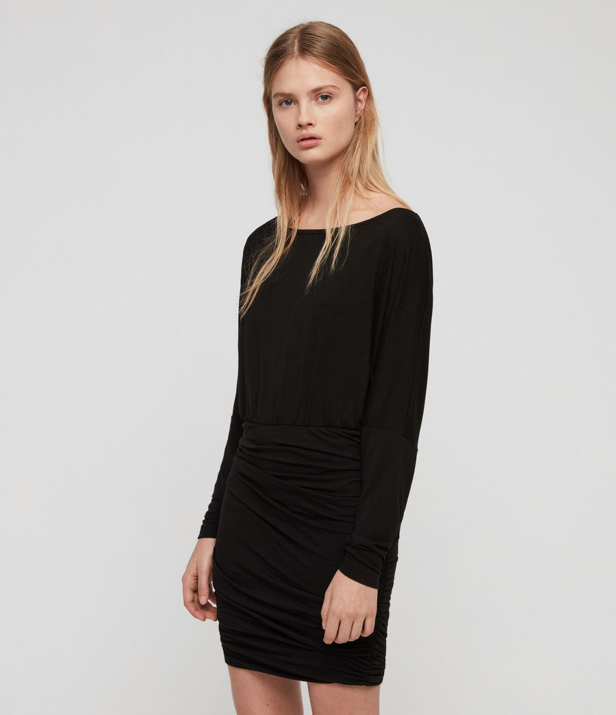 Women's Giogia Dress (black) - Image 4