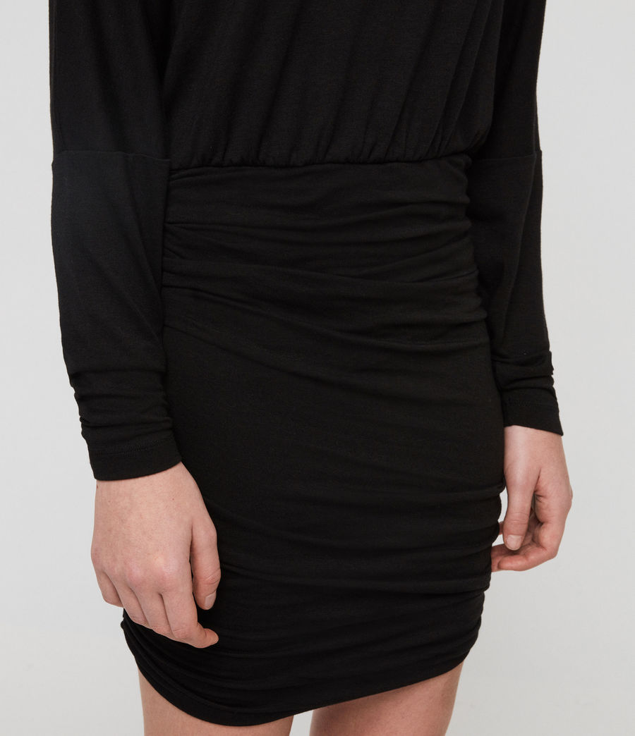 Women's Giogia Dress (black) - Image 5
