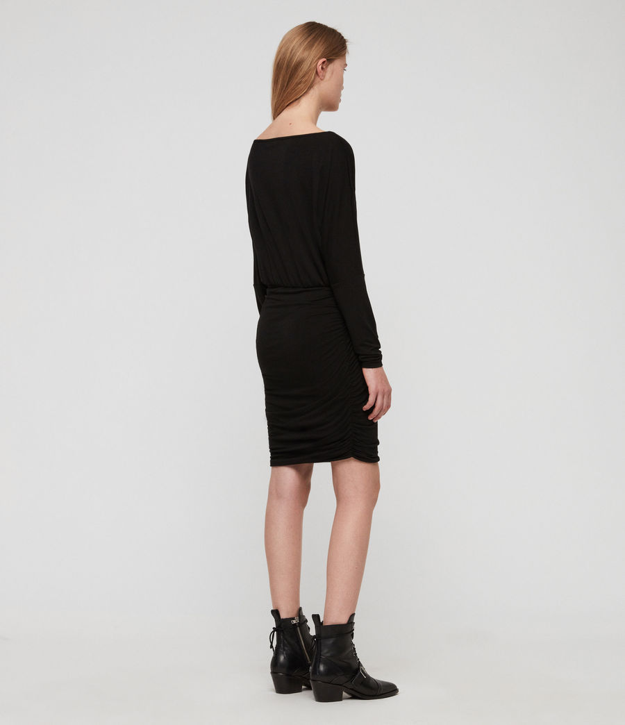 Women's Giogia Dress (black) - Image 6