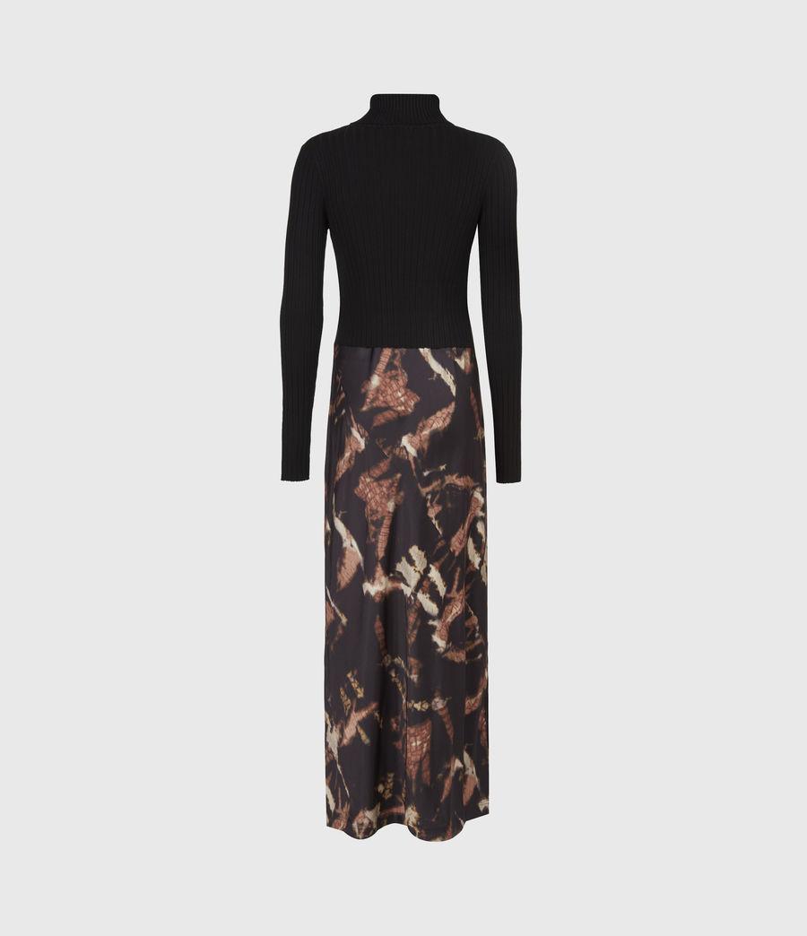 Womens Sigourney 2-In-1 Tie Dye Dress (black) - Image 3