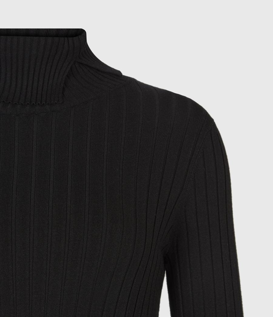 Womens Sigourney 2-In-1 Tie Dye Dress (black) - Image 5