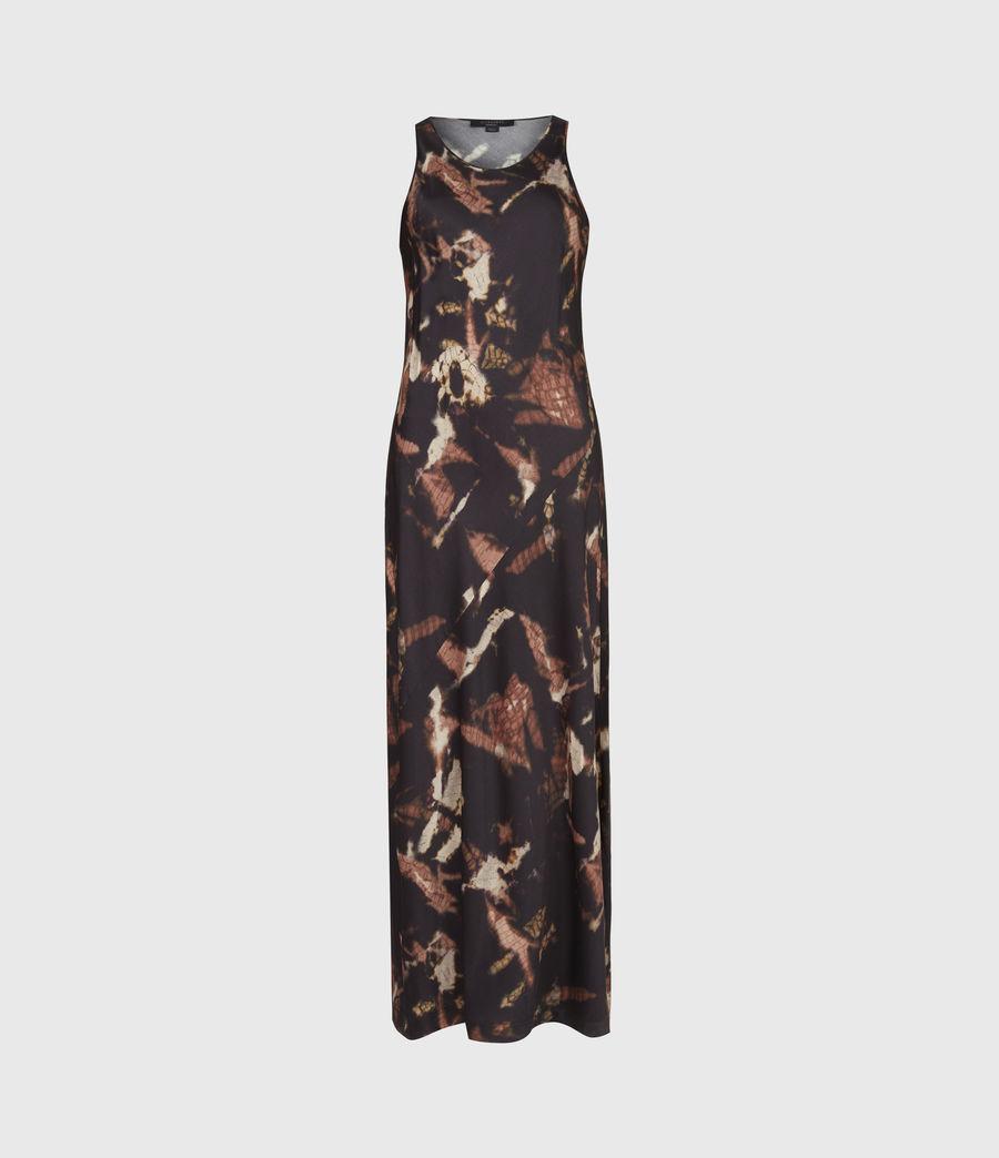 Womens Sigourney 2-In-1 Tie Dye Dress (black) - Image 6