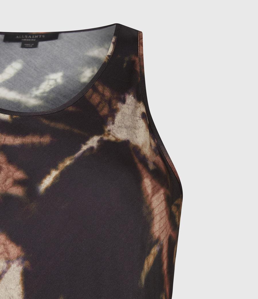 Womens Sigourney 2-In-1 Tie Dye Dress (black) - Image 7