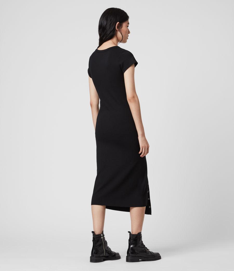 Femmes Robe T-Shirt à Manches Courtes Hatti (black) - Image 5