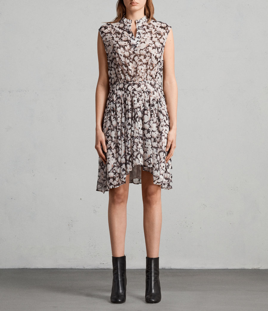Womens Victoria Magnolita Dress (dusty_pink) - Image 1