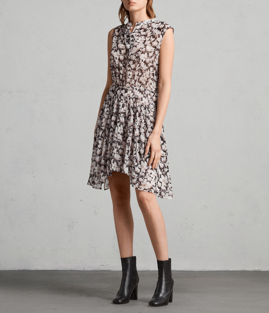 Womens Victoria Magnolita Dress (dusty_pink) - Image 3