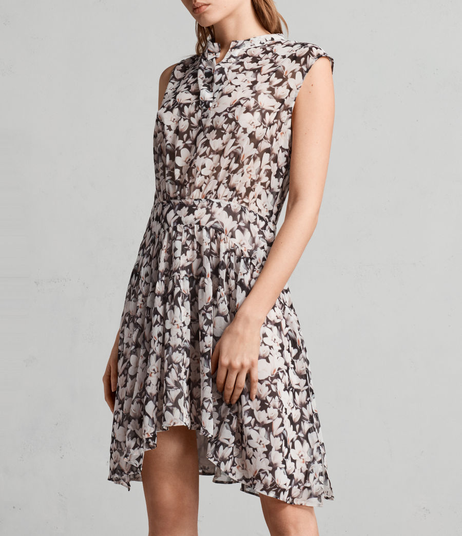 Womens Victoria Magnolita Dress (dusty_pink) - Image 5