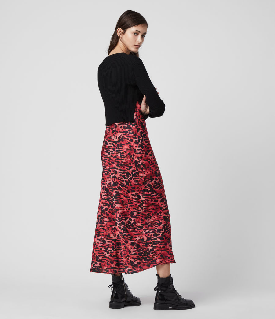 Mujer Hera Ambient Dress (black_red) - Image 5
