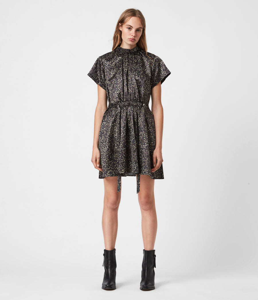Women's Erin Lee Dress (umber_brown) - Image 1