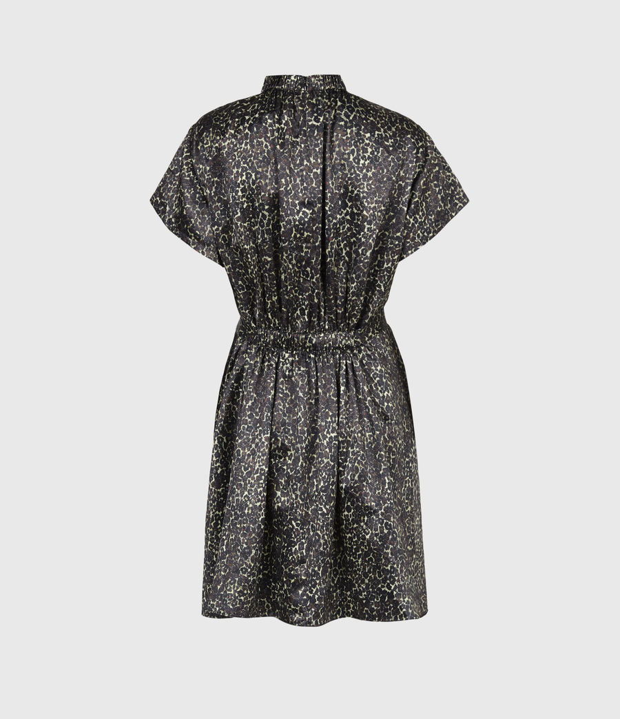 Women's Erin Lee Dress (umber_brown) - Image 3