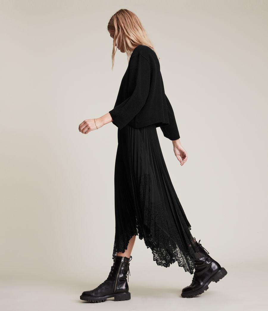 Womens Aspyn 2-In-1 Dress (black) - Image 2