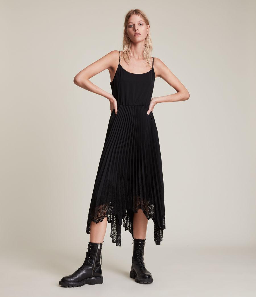 Womens Aspyn 2-In-1 Dress (black) - Image 6