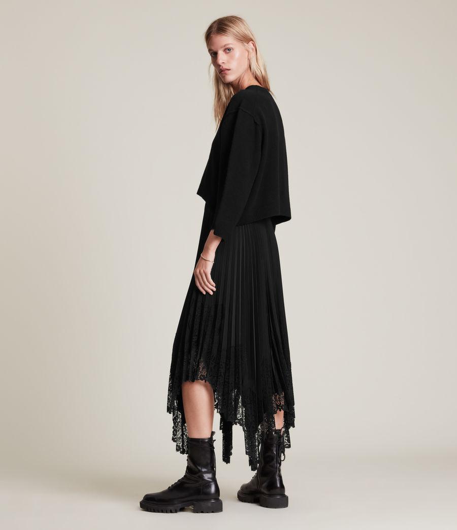 Womens Aspyn 2-In-1 Dress (black) - Image 8