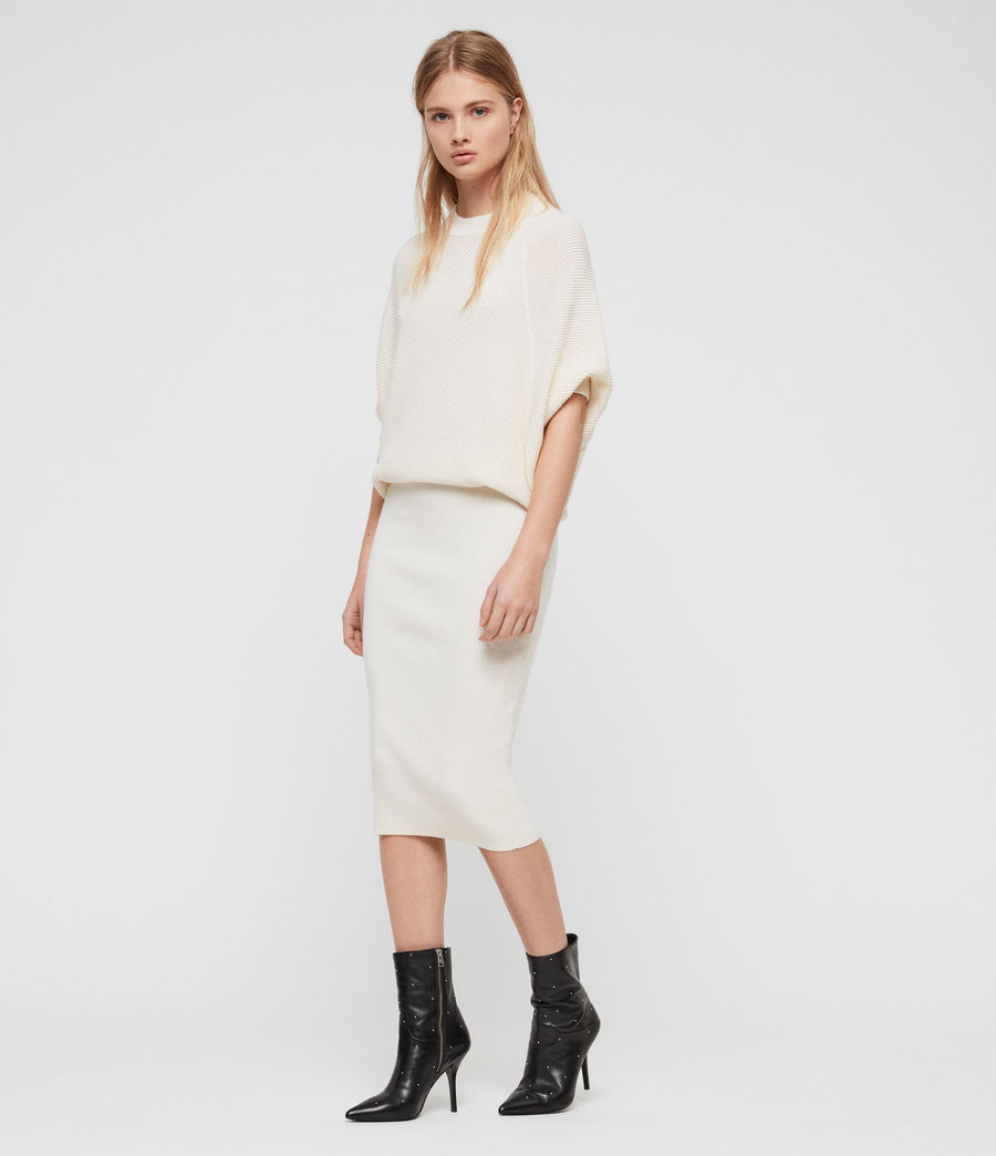 Womens Deon Dress (chalk_white) - Image 1
